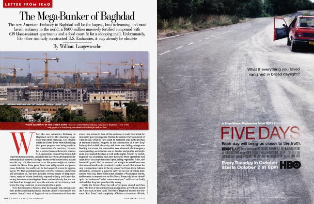 Article Preview: The Mega-Bunker of Baghdad, November 2007 | Vanity Fair