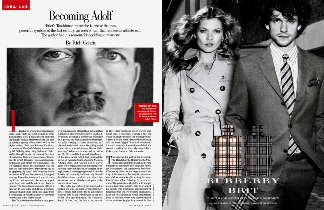 Article Preview: Becoming Adolf, November 2007 2007   Vanity Fair