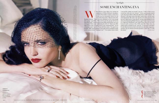 Article Preview: SOME ENCHANTING EVA, November 2007 2007 | Vanity Fair