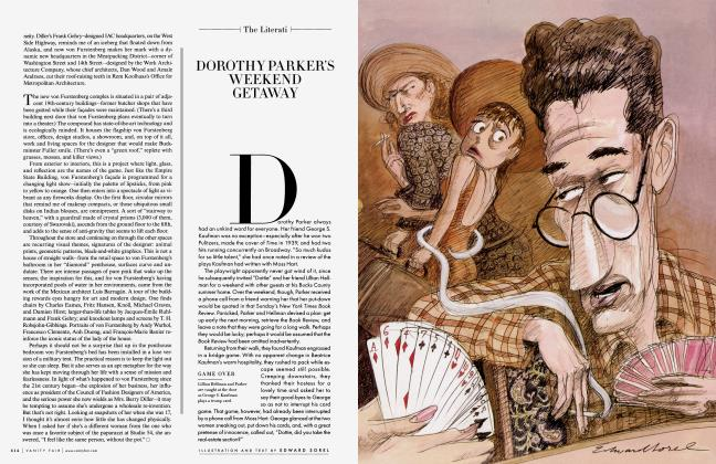 Article Preview: DOROTHY PARKER'S WEEKEND GETAWAY, November 2007 2007 | Vanity Fair