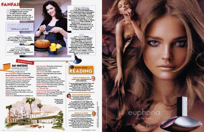 Article Preview: BARHOPPING BAR NINETEEN12, November 2007 2007 | Vanity Fair