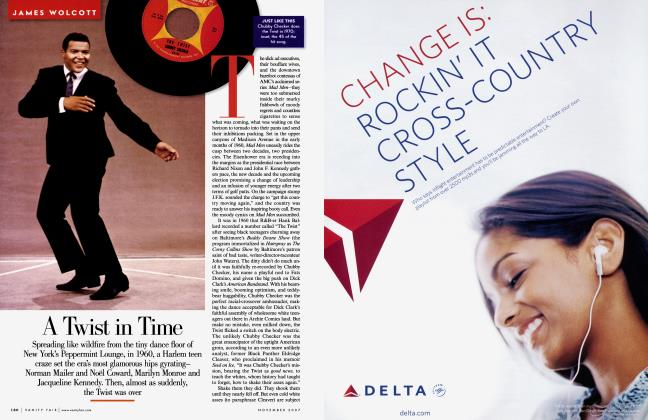 Article Preview: A Twist in Time, November 2007 2007 | Vanity Fair