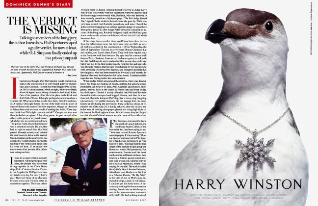 Article Preview: THE VERDICT IS MISSING, December 2007 2007 | Vanity Fair