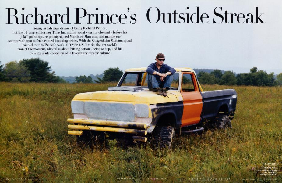 Richard Prince's Outside Streak