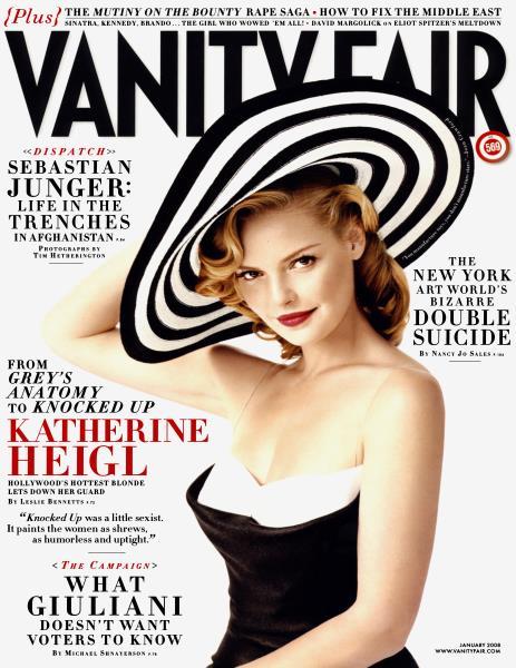 Issue: - January 2008   Vanity Fair