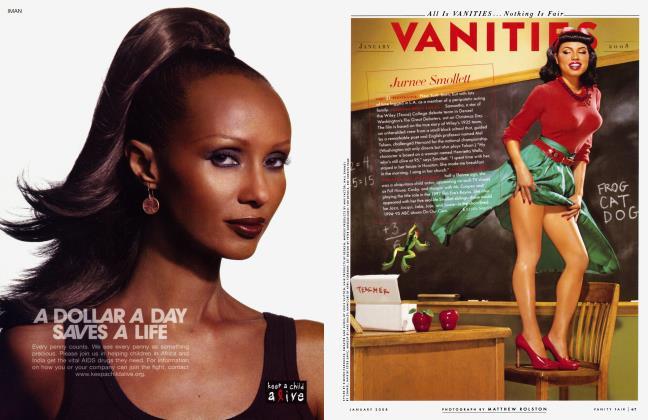 Article Preview: Jurnee Smollett, January 2008 2008 | Vanity Fair