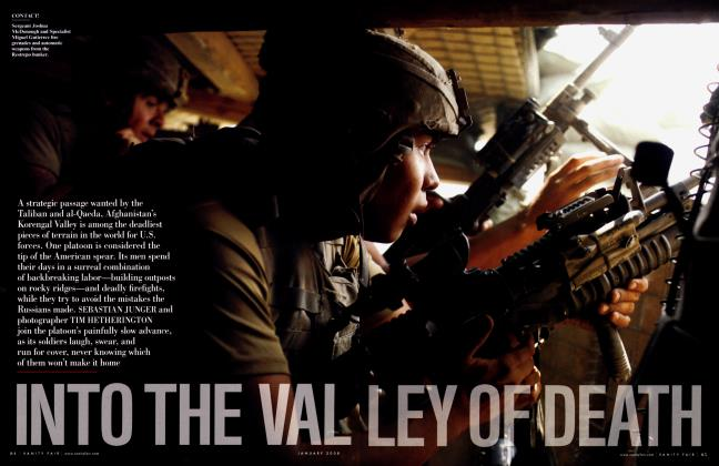 Article Preview: INTO THE VALLEY OF DEATH, January 2008 2008 | Vanity Fair