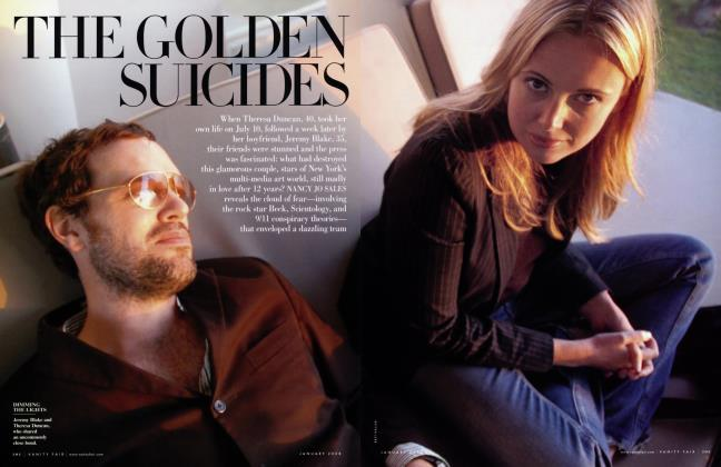Article Preview: THE GOLDEN SUICIDES, January 2008 2008 | Vanity Fair