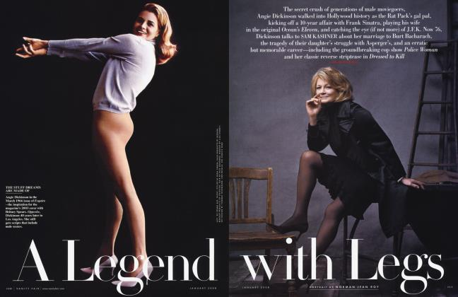 Article Preview: A Legend with Legs, January 2008 2008 | Vanity Fair
