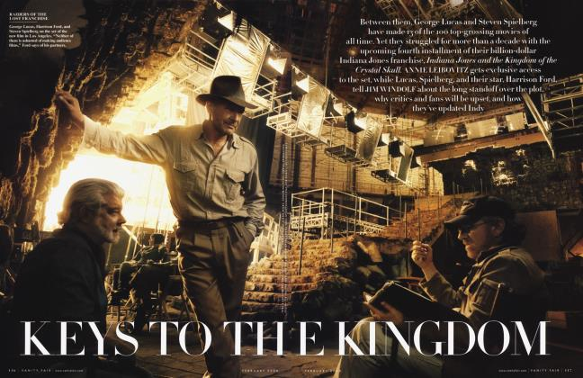 Article Preview: KEYS TO THE KINGDOM, February 2008 2008 | Vanity Fair