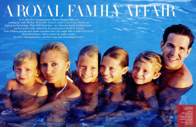 Article Preview: A ROYAL FAMILY AFFAIR, February 2008 | Vanity Fair