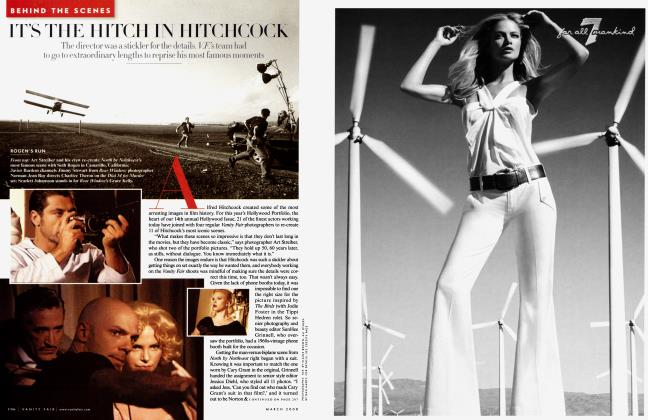 Article Preview: IT'S THE HITCH IN HITCHCOCK, March 2008 2008 | Vanity Fair