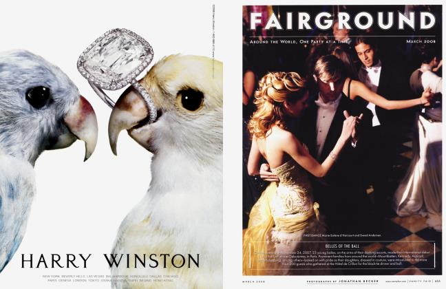 Article Preview: FAIRGROUND, March 2008 2008 | Vanity Fair