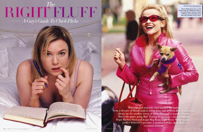 Article Preview: The RIGHT FLUFF A Guy's Guide To Chick Flicks, March 2008 2008 | Vanity Fair