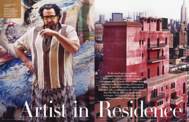 Article Preview: Artist in Residence, March 2008 2008 | Vanity Fair