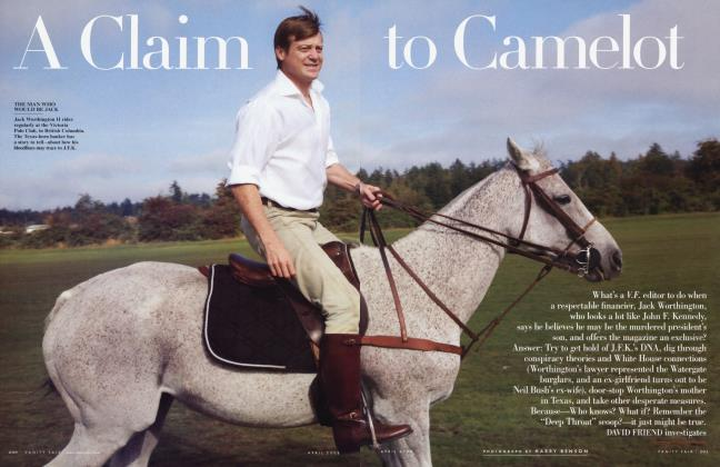 Article Preview: A Claim to Camelot, April 2008 | Vanity Fair