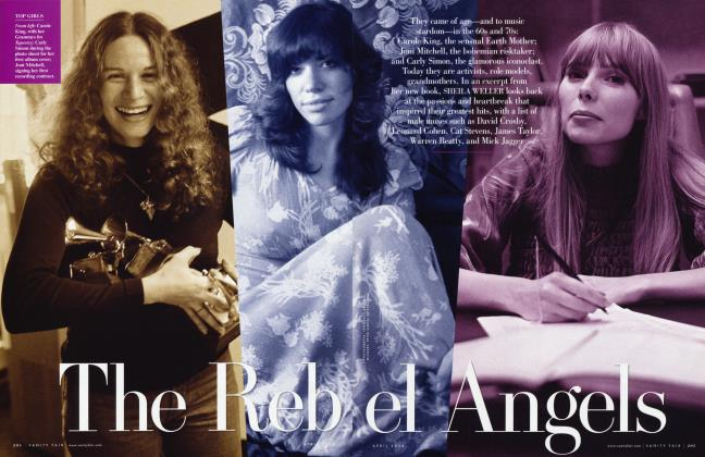 Article Preview: The Rebel Angels, April 2008 | Vanity Fair