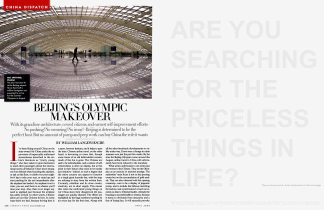 Article Preview: BEIJING'S OLYMPIC MAKEOVER, April 2008 2008 | Vanity Fair