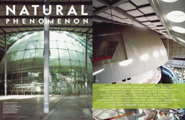 Article Preview: NATURAL PHENOMENON, May 2008 2008 | Vanity Fair