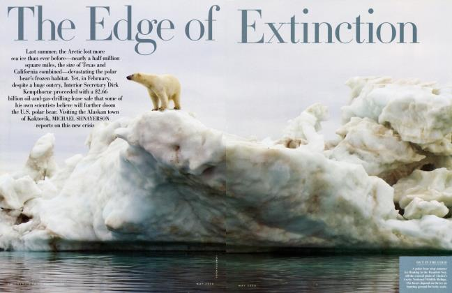 Article Preview: The Edge of Extinction, May 2008 2008 | Vanity Fair