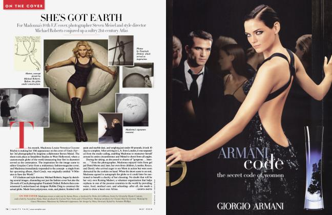 Article Preview: SHE'S GOT EARTH, May 2008 2008   Vanity Fair