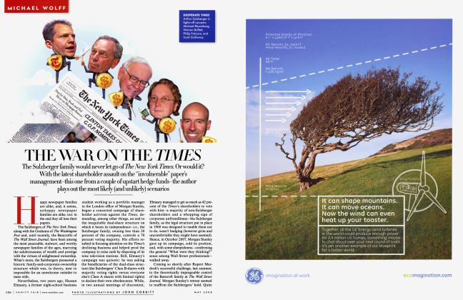 Article Preview: THE WAR ON THE TIMES, May 2008 2008 | Vanity Fair