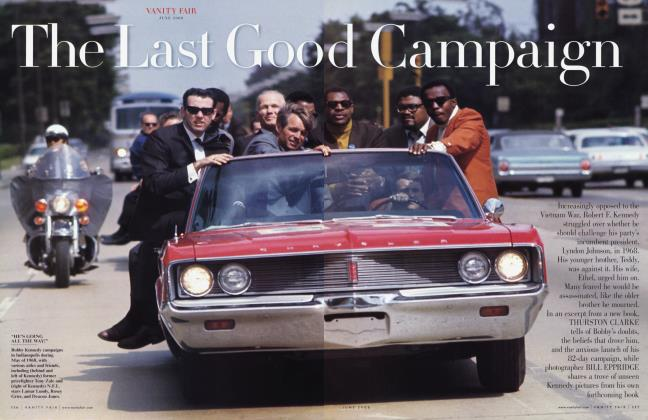 Article Preview: The Last Good Campaign, June 2008 2008 | Vanity Fair