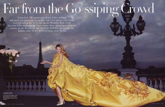 Article Preview: Far from the Gossiping Crowd, June 2008 2008 | Vanity Fair