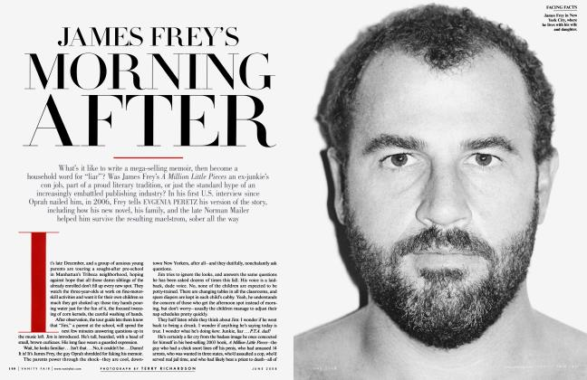 JAMES FREY'S MORNING AFTER