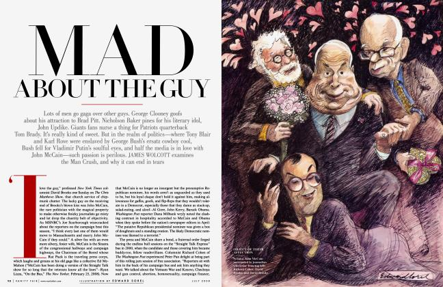Article Preview: MAD ABOUT THE GUY, July 2008 | Vanity Fair