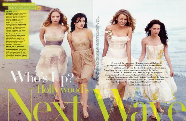 Article Preview: Who's Up? Hollywood's Next Wave, August 2008 2008 | Vanity Fair