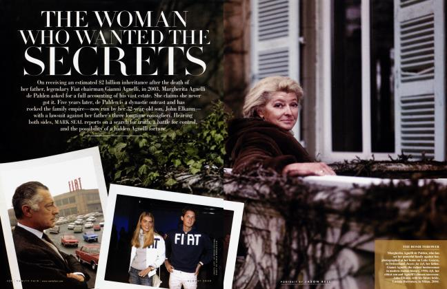 Article Preview: THE WOMAN WHO WANTED THE SECRETS, August 2008 2008 | Vanity Fair