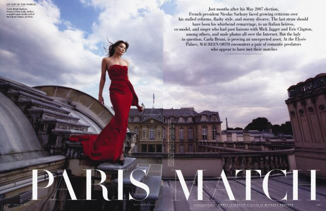 Article Preview: PARIS MATCH, September 2009 2008 | Vanity Fair