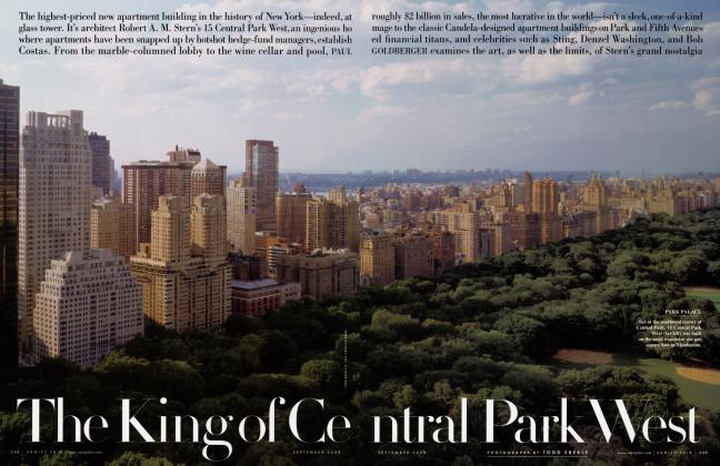 Article Preview: The King of Central Park West, September 2009 2008 | Vanity Fair
