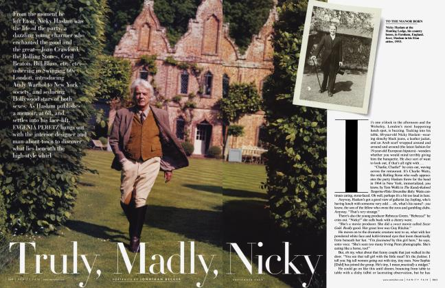 Article Preview: Truly, Madly, Nicky, September 2009 2008 | Vanity Fair