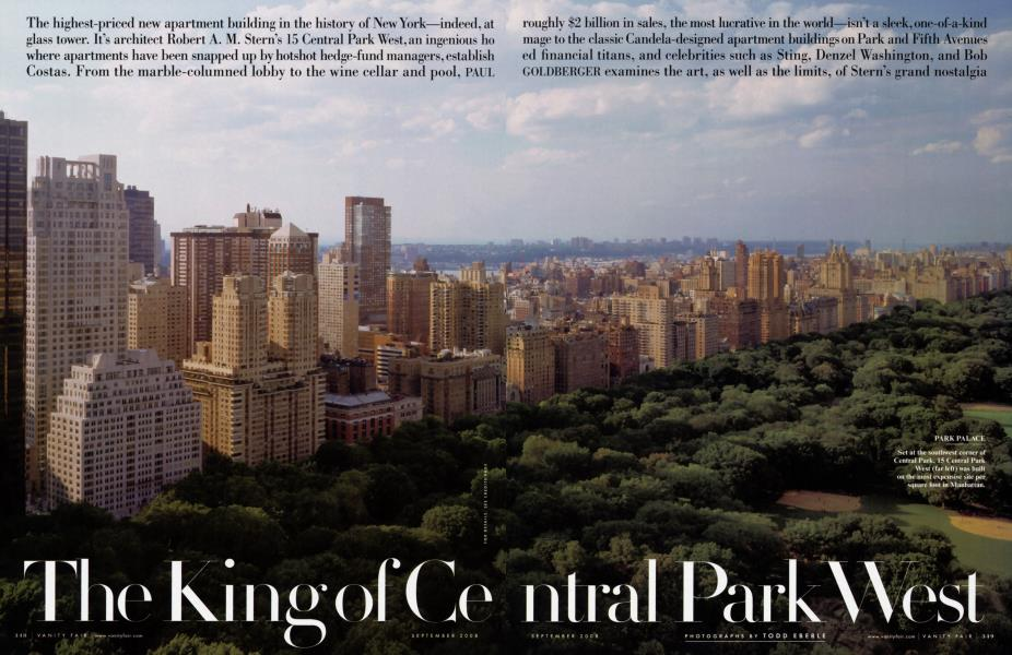 The King of Central Park West