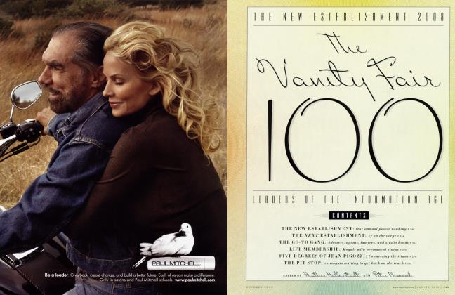 Article Preview: THE NEW ESTABLISHMENT 2008 The Vanity Fair 100 LEADERS OF THE INFORMATION AGE, October 2008 2008 | Vanity Fair