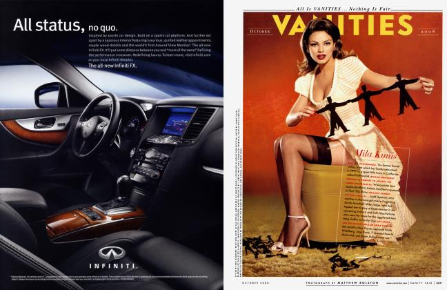 Article Preview: Mila Kunis, October 2008 2008 | Vanity Fair