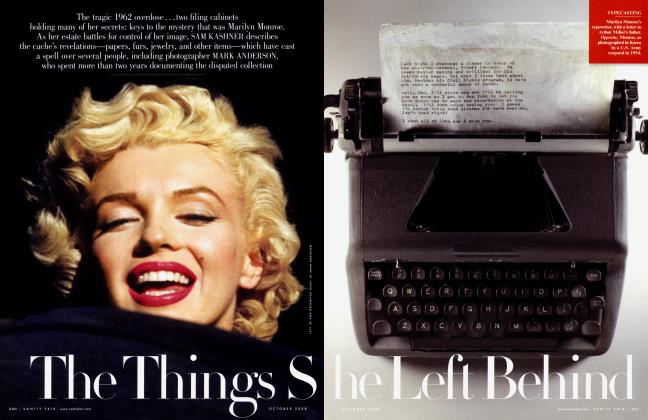 Article Preview: The Things She Left Behind, October 2008 2008 | Vanity Fair