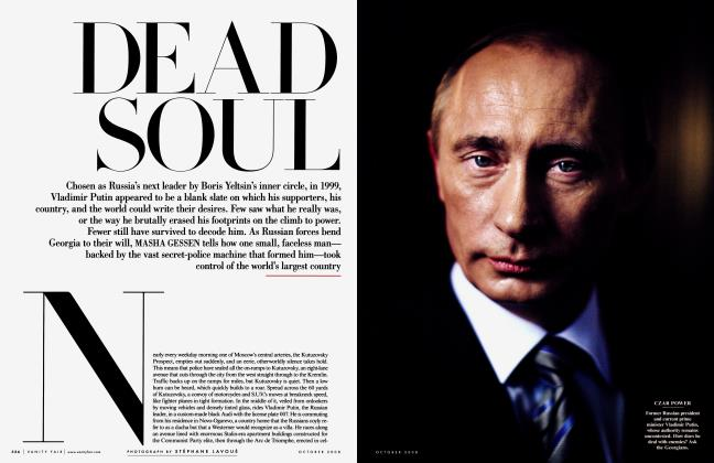 Article Preview: DEAD SOUL, October 2008 2008 | Vanity Fair