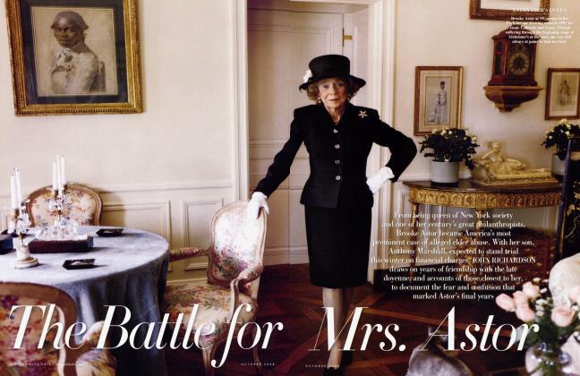 The Battle for Mrs. Astor