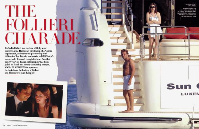 Article Preview: THE FOLLIERI CHARADE, October 2008   Vanity Fair
