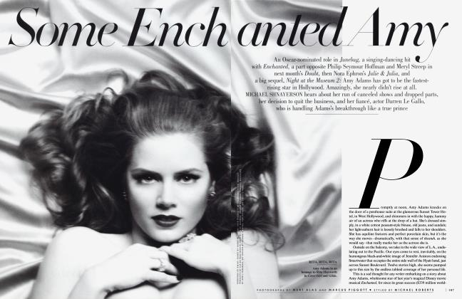 Article Preview: Some Enchanted Amy, November 2008 | Vanity Fair