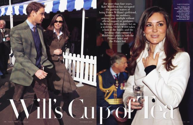 Article Preview: Will's Cup of Tea, November 2008 2008 | Vanity Fair