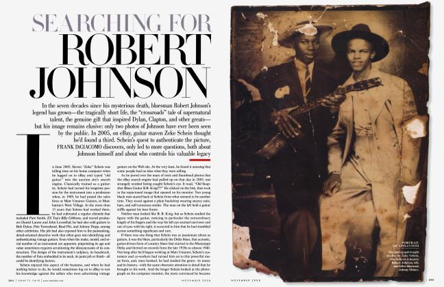 Article Preview: SEARCHING FOR ROBERT JOHNSON, November 2008 | Vanity Fair