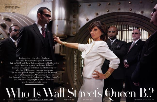 Article Preview: Who Is Wall Street's Queen B.?, November 2008 2008   Vanity Fair