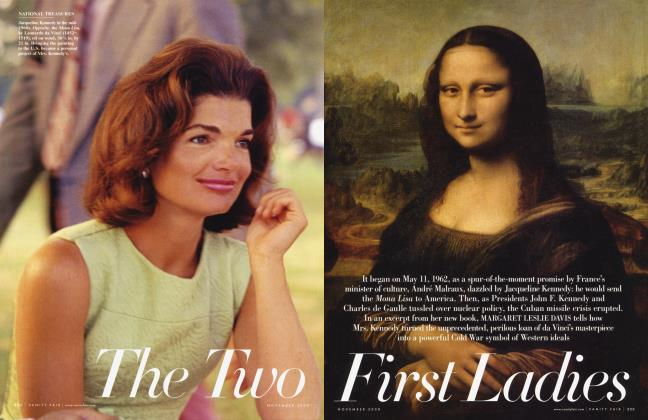 Article Preview: The Two First Ladies, November 2008 | Vanity Fair