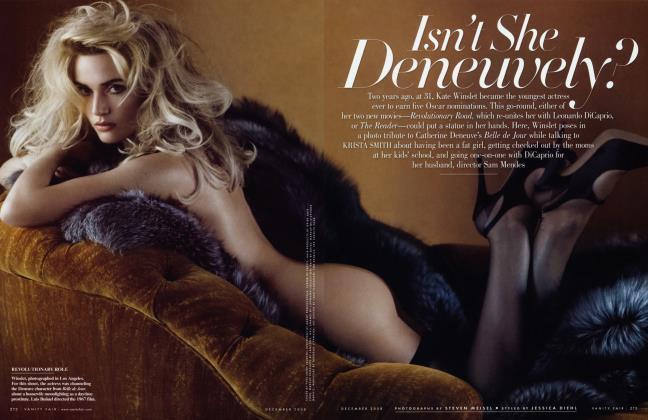 Article Preview: Isn't She Deneuvely?, December 2008 2008 | Vanity Fair