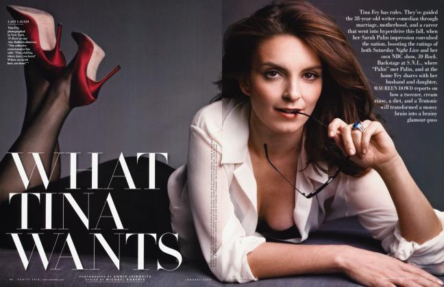 Article Preview: WHAT TINA WANTS, January 2009 2009 | Vanity Fair
