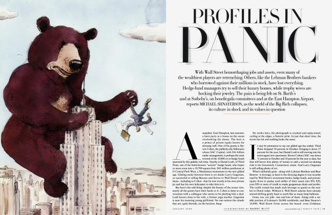 Article Preview: PROFILES IN PANIC, January 2009 | Vanity Fair